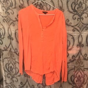 Lucky brand long sleeve top small
